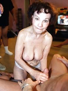 Great granny gangbang